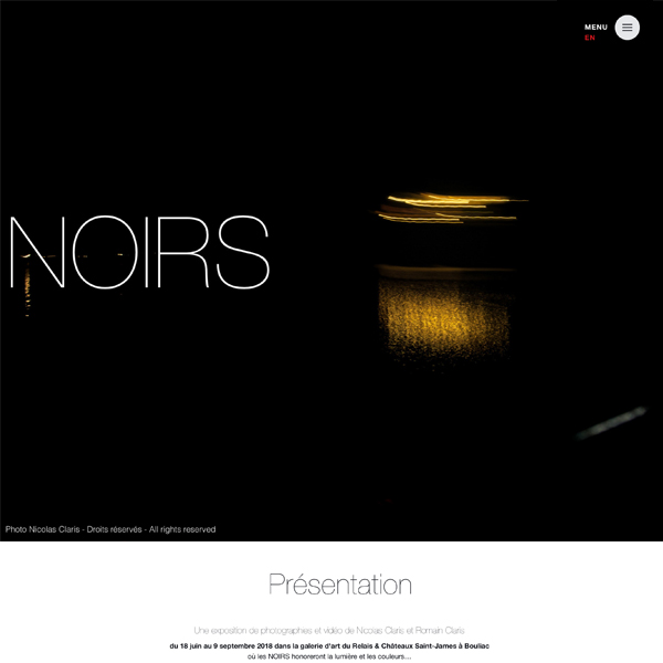 NOIRS photo and video exhibition